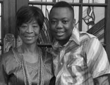 DJ Tira and Mum
